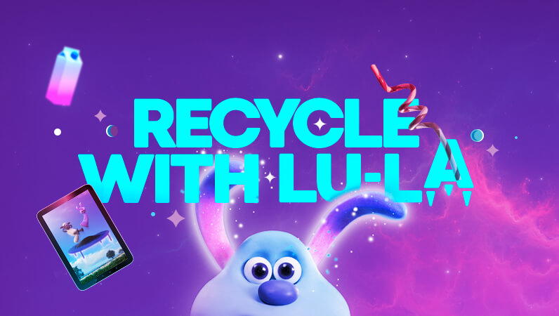 Recycle with LU-LA
